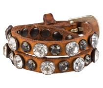 Leder-Wickelarmband