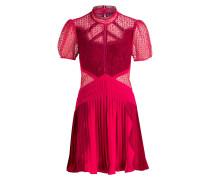 Kleid - himbeere