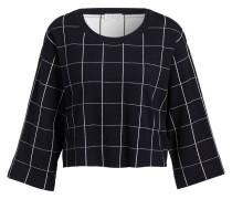 Sweatshirt MYCHECK - marine/ weiss