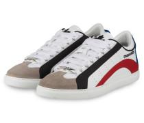 Sneaker 551 - WEISS/ BEIGE/ BLAU