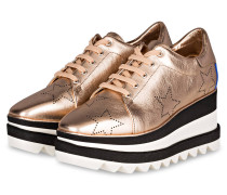 Plateau-Sneaker ELYSE - ROSÉGOLD