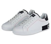 Sneaker PORTOFINO - WEISS/ DUNKELBLAU