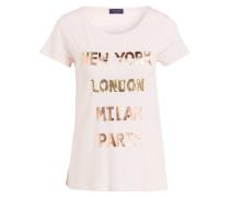 T-Shirt - hellrosa