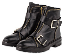 Boots 46 ZIP STREET - SCHWARZ