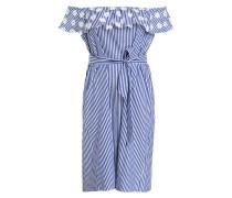 Blusenkleid DENVER - blau/ weiss gestreift