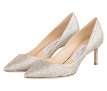 Pumps ROMY 60 - PLATIN METALLIC