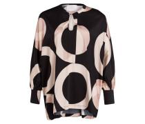 Oversized-Bluse aus Seide