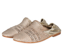 Slipper JACKIE 4 - GOLD