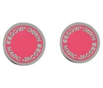Ohrstecker - pink/ silber