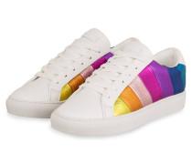 Sneaker LANE - WEISS/ PINK/ LILA