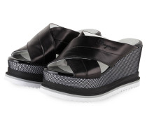 Wedges CANNES 9A - SCHWARZ