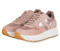 Plateau-Sneaker MARAN - ROSE