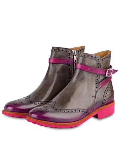 Melvin & Hamilton Damen Boots AMELIE - GRAU/ FUCHSIA Billig Holen Eine Beste RklOi2k