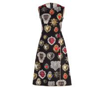 Kleid - schwarz/ rot/ weiss