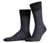 Socken SHADOW - 3191 anthra/blau