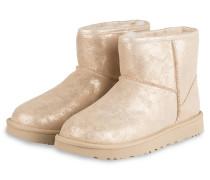 Boots CLASSIC MINI STARDUST - BEIGE