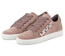 Sneaker TOWN mit Perlenbesatz - ROSEWOOD