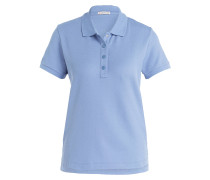 Piqué-Poloshirt - hellblau