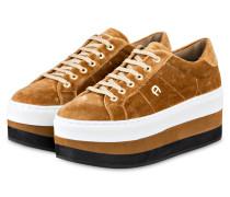 Plateau-Sneaker DIANE II - CAMEL