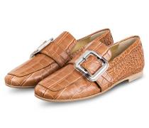Loafer NINA - CAMEL