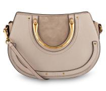 Handtasche PIXIE BELT - pastell grey