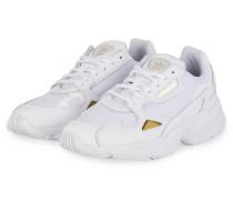Plateau-Sneaker FALCON - WEISS