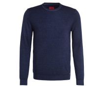 Schurwoll-Pullover Level Five body fit