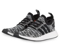 Sneaker NMD_R2 - schwarz/ weiss