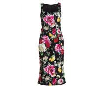 Kleid - schwarz/ pink/ grün