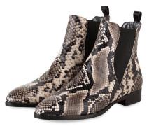 Chelsea-Boots - GRAU/ BEIGE