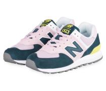 Sneaker WL574 - ROSA/ PETROL