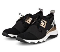 Plateau-Sneaker DIVINA - SCHWARZ