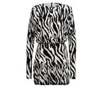 Jerseykleid ALINA mit Volantbesatz