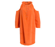 Cold-Shoulder-Kleid