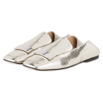 Slipper - SILBER METALLIC