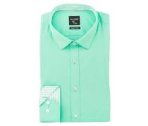 Hemd No. Six super slim - grün