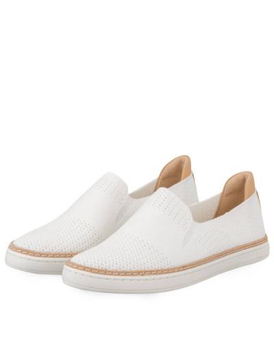 UGG Damen Slip-on-Sneaker SAMMY - WEISS Billig Verkauf Visum Zahlung b2Gtp5