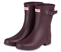 Gummi-Boots - DUNKELROT