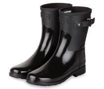 Gummi-Boots REFINED - SCHWARZ