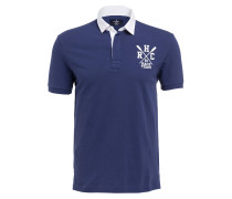 Piqué-Poloshirt Classic-Fit - navy