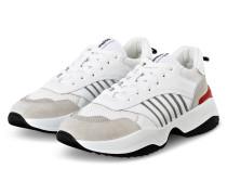 Sneaker D24 - WEISS/ HELLGRAU