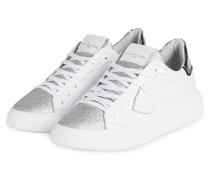 Sneaker TEMPLE - WEISS/ SILBER