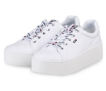 Plateau-Sneaker - WEISS. Tommy Hilfiger d9e08f6a4f