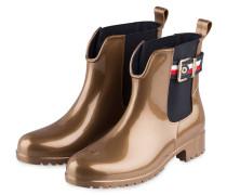 Gummi-Boots - HELLBRAUN