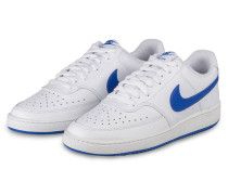Sneaker COURT VICION LOW - WEISS/ BLAU