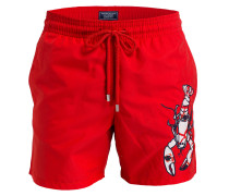 Badeshorts LOBSTER STICKEREI MOTU