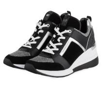 Plateau-Sneaker GEORGIE - SCHWARZ