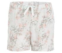 Pyjama-Shorts - mint/ rosa/ grau