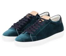 Samt-Sneaker - PETROL