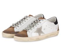 Sneaker SUPERSTAR - WEISS/ BRAUN